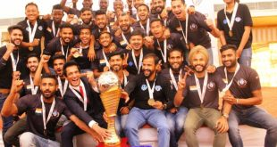 Minerva Punjab FC officially handed I-League trophy!