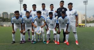 India U-16 defeat Singapore 3-1 in Jockey Cup Youth Tournament!