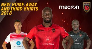 Macron launch new kits of Phoenix Rising FC!