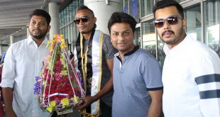 Striker Fikru Teferra Lemessa of Ethiopia arrives in Kolkata to join Mohammedan Sporting!