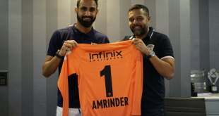 VIDEO: Amrinder Singh signs contract extension with Mumbai City FC until 2021!