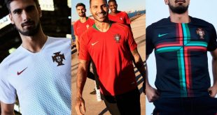 Nike-made Portugal's new kits flash Gold & Kinetic Green!