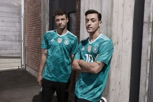 "A story made for storytelling  adidas today unveiled the away kit that will  see ""Die Mannschaft"" head to the 2018 FIFA World Cup in Russia. 014d03e8d"