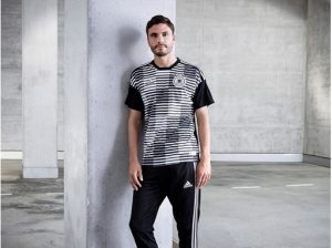 aac1006d9 From the Ocean to the Grass  adidas  sustainable warm-up jersey for  Germany s  Die Mannschaft !