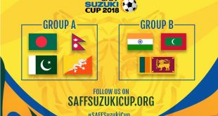 2018 SAFF Cup: India to face the Maldives & Sri Lanka in group stage!