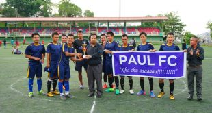 Paul FC win Mizoram FA Futsal Division I Season Ending Tournament!