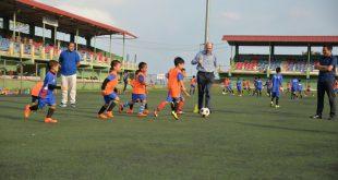 German Consul General visits Mizoram FA Grassroots programme!