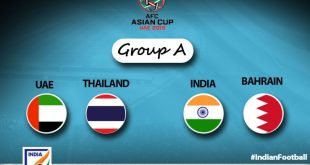 My Opinion: India's 2019 AFC Asian Cup group with UAE, Thailand & Bahrain is tricky!