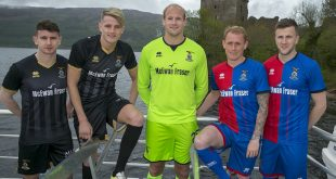 Errea & Inverness Caledonian Thistle presents the new kits for the coming 2018/19 season!