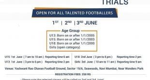 Football School of India (FSI) to hold trials for Youth League teams!