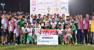 Salgaocar FC win Goa Sevens Premier League – Season 2!