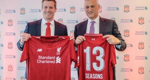 Liverpool FC & Standard Chartered Bank announce their contract extension!