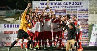 Mizoram FA Futsal Cup champions Paul FC Kulikawn!