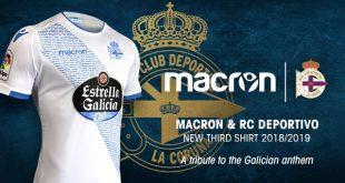 Macron & Deportivo La Coruna release a new Third Kit!