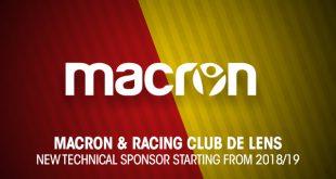 Macron & Racing Club de Lens announce partnership!