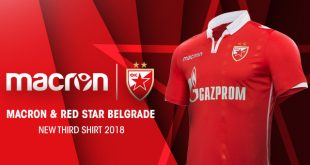 Macron & Red Star Belgrade reveal the new third Kit!