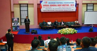 Mizoram FA holds Annual General Body Meeting!