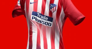 Atletico Madrid's 2018-19 Home Kit by Nike captures passion on pitch and in the stands!