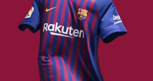 FC Barcelona's 2018/19 Home Kit Unites the City's 10 Districts!