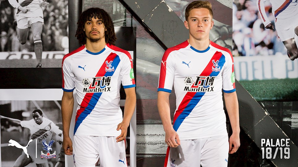 b11270d9c68 VIDEO  Wilfried Zaha   Vince Hilaire in The Crystal Palace Puma Sash ...