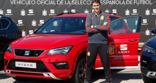 SEAT sponsors Spanish National Football Team!