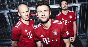 Bayern Munich home kits to be red and white only in future!