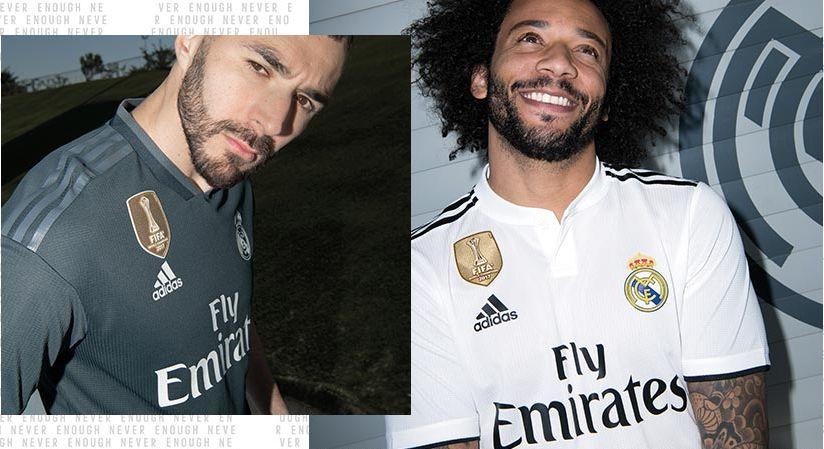 incluir Fuera de plazo Más  VIDEO - adidas: Real Madrid's season 2018/19 Home & Away Kits!