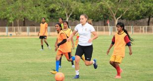 Anantapur Football League footballers train with Real Betis captain Irene Guerrero at three-day camp!