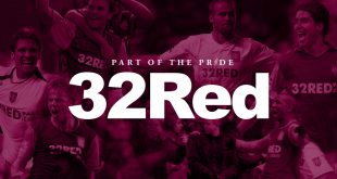 Aston Villa announce 32Red as their new shirt sponsors!