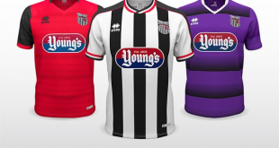 Classical yet bold sums up Grimsby Town FC's new kits for 2018/19 created by Errea!