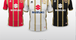 Errea & MK Dons unveil the new kits for the forthcoming 2018/19 season!
