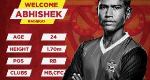 Gokulam Kerala FC announce signing Abhishek Das!