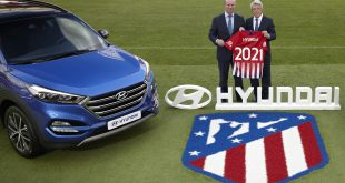 Hyundai Motor becomes Automotive Partner of Atletico Madrid!
