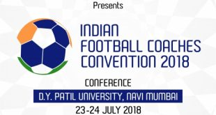Indian Football Coaches Convention to be held in Mumbai!