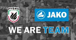 JAKO & Russia's Rubin Kazan announce Partnership!