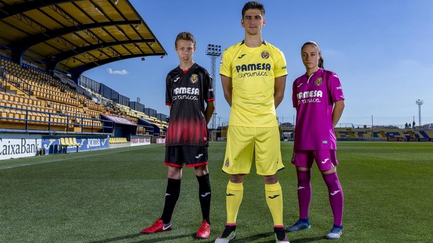 fe75ce2f3 Joma launch new 2018 19 kits of Villarreal CF!