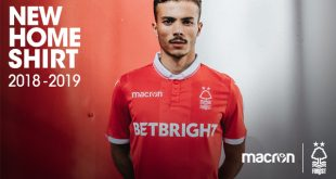 Macron & Nottingham Forest reveal the New Garibaldi red home kit!