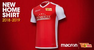1.FC Union Berlin & Macron unveil the new home shirt for 2018/19 season!