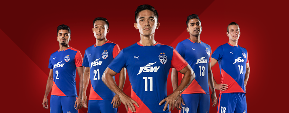 VIDEO - PUMA  Bengaluru FC launch their new 2018 19 home kit! 540a52611