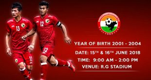 Shillong Lajong FC to hold youth trials in Aizawl!