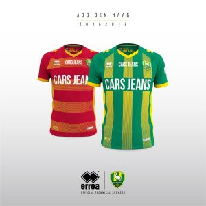 7a21cfe198d ADO Den Haag unveil their new kits created for the forthcoming 2018 19  season by Errea!