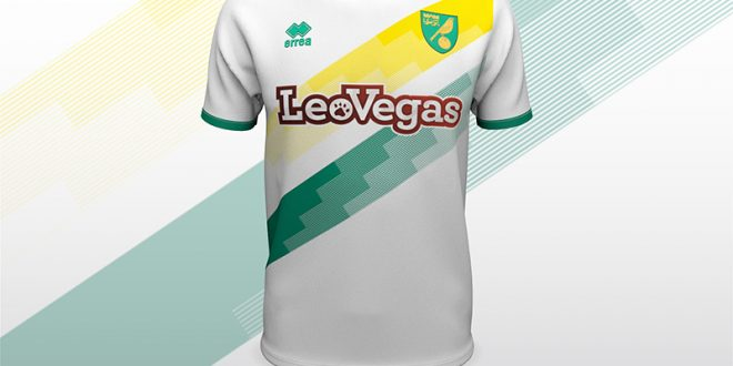 cb346c4eb Errea   Norwich City FC unveil the new away shirt for the coming 2018 19  season!