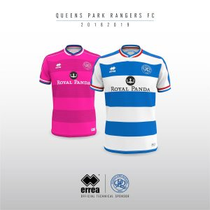 Queens Park Rangers FC unveil their new official 2018 19 kits from Errea! 7b807c049