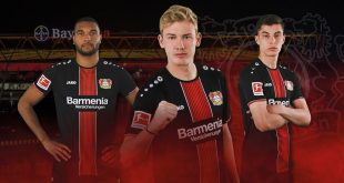 Classic look with modern pinstripes for Bayer 04 Leverkusen by JAKO!