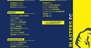 Kerala Blasters squad return to Kochi ahead of LaLiga World Tournament!