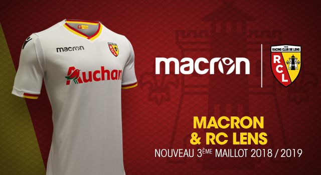 Rc Lens Macron The Reveal Of The New Third Jersey