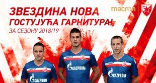 Macron unveil new Red Star Belgrade 2018/19 away kit!