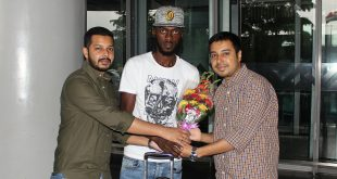 Ivorian Bazie Armand arrives in Kolkata to join Mohammedan Sporting!