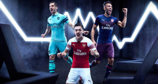 VIDEO: PUMA & Arsenal FC launch clubs 2018/19 season kits!