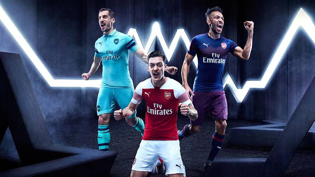 e97cc484f82 PUMA   Arsenal FC launch clubs 2018 19 season third kit in Singapore!